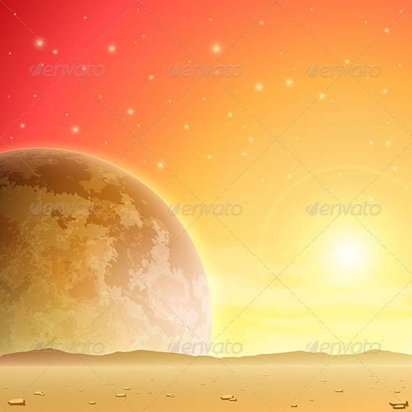 GraphicRiver Space Background 3517192