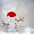 Snowman Retro - PhotoDune Item for Sale