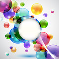 Bubbles Background - PhotoDune Item for Sale