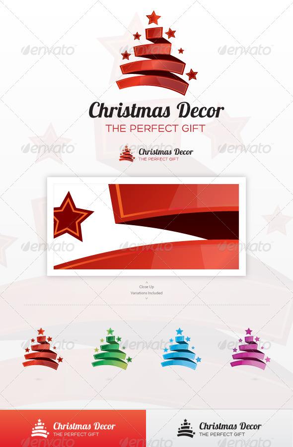 GraphicRiver Christmas Decor Logo 3519591