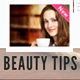 Daily Beauty Tips - GraphicRiver Item for Sale