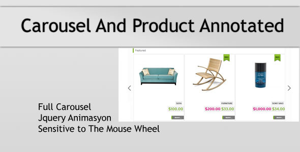 Featured Module - Carousel And Product Annotated - CodeCanyon Item for Sale