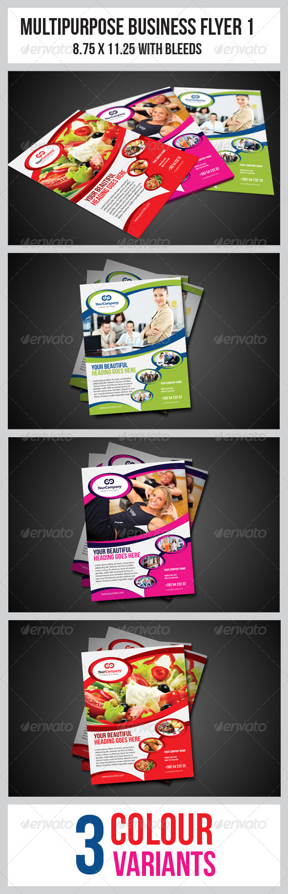 GraphicRiver Multipurpose Business Flyer 1 3522226