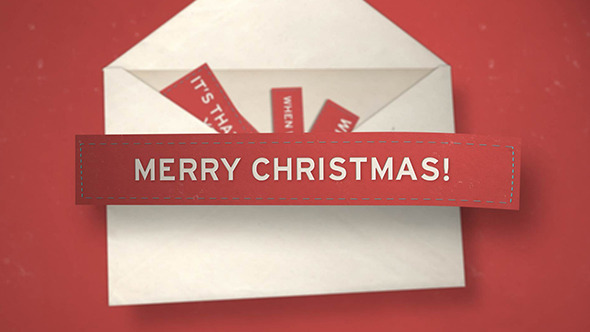 VideoHive Christmas Envelope 3523491