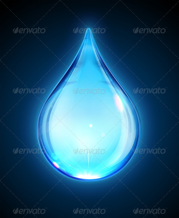 GraphicRiver Water Drop 3523524