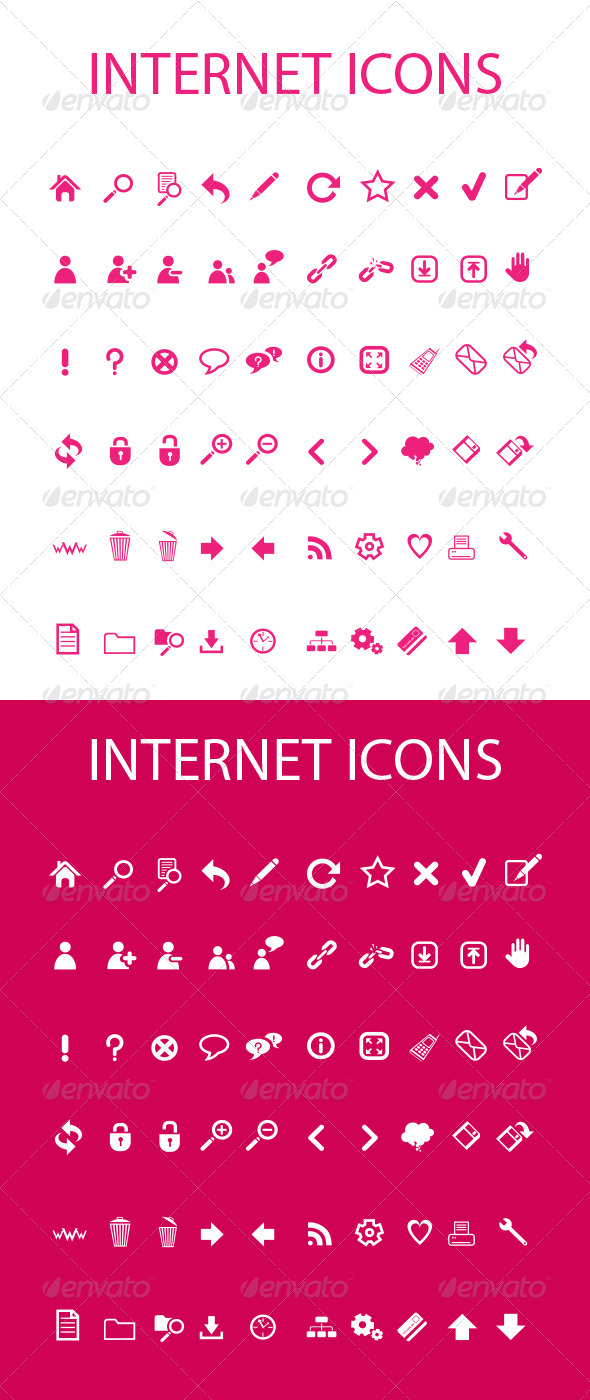GraphicRiver Web Icons 100% Vector 3525302
