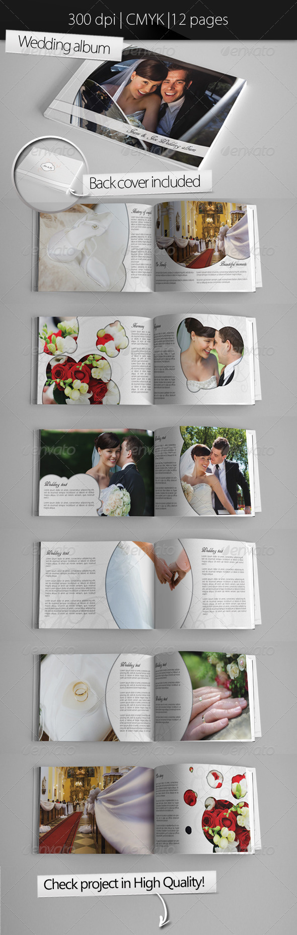 GraphicRiver Wedding Photo Album 3494311
