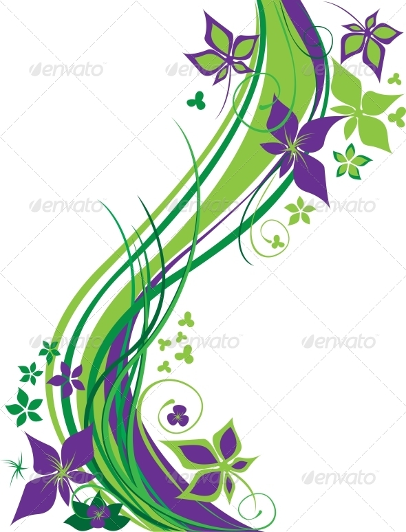 GraphicRiver Decorative Background 3528176