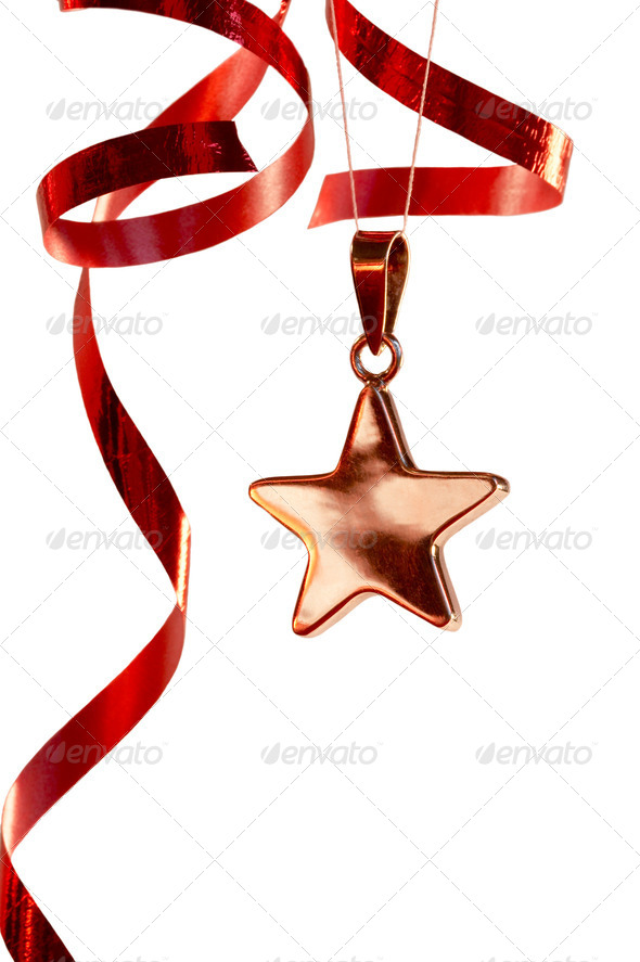 Christmas star - Stock Photo - Images