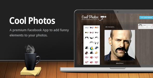 CodeCanyon Cool Photos Facebook App 3454245