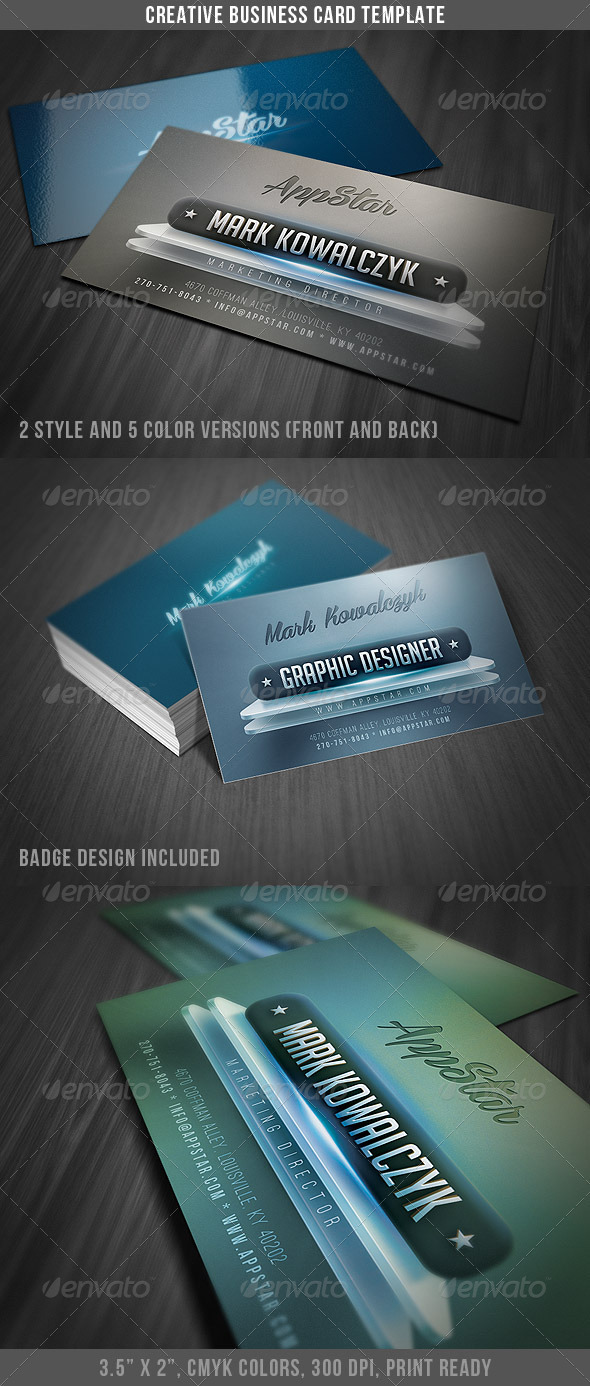 Creative & Modern Business Card - Creative Business Cards