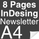 8 Page InDesign A4 Newsletter - GraphicRiver Item for Sale