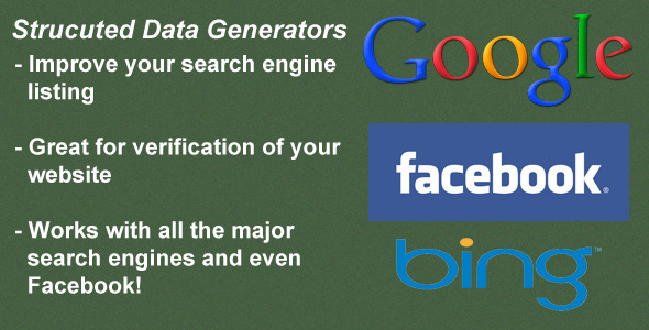 CodeCanyon Structured Data Tags Generators 3405234