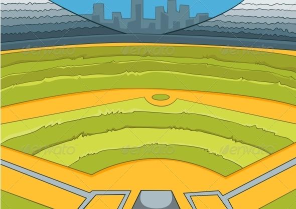 GraphicRiver Baseball Stadium 3530910