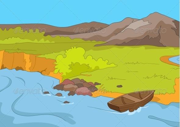 GraphicRiver Lake Shore 3531021