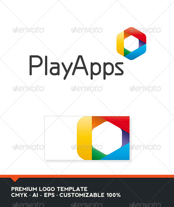 GraphicRiver Play Apps Logo Template 3531449