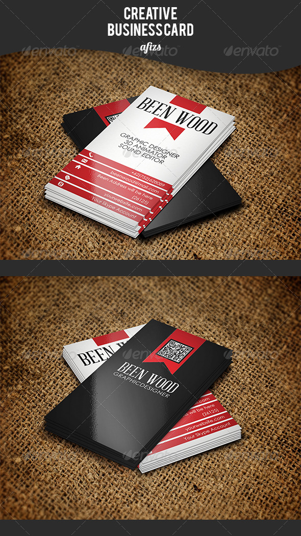 GraphicRiver Creative Business Card 3531900