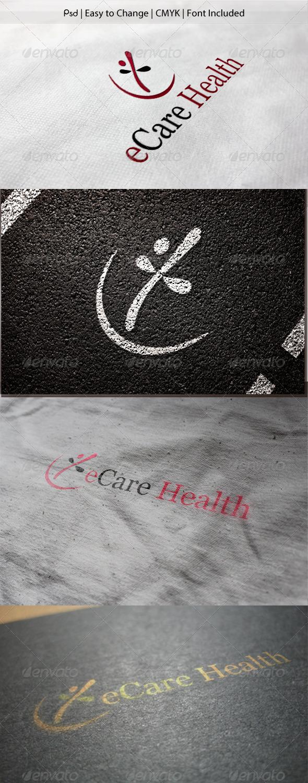 GraphicRiver eCare Health Logo 3525577