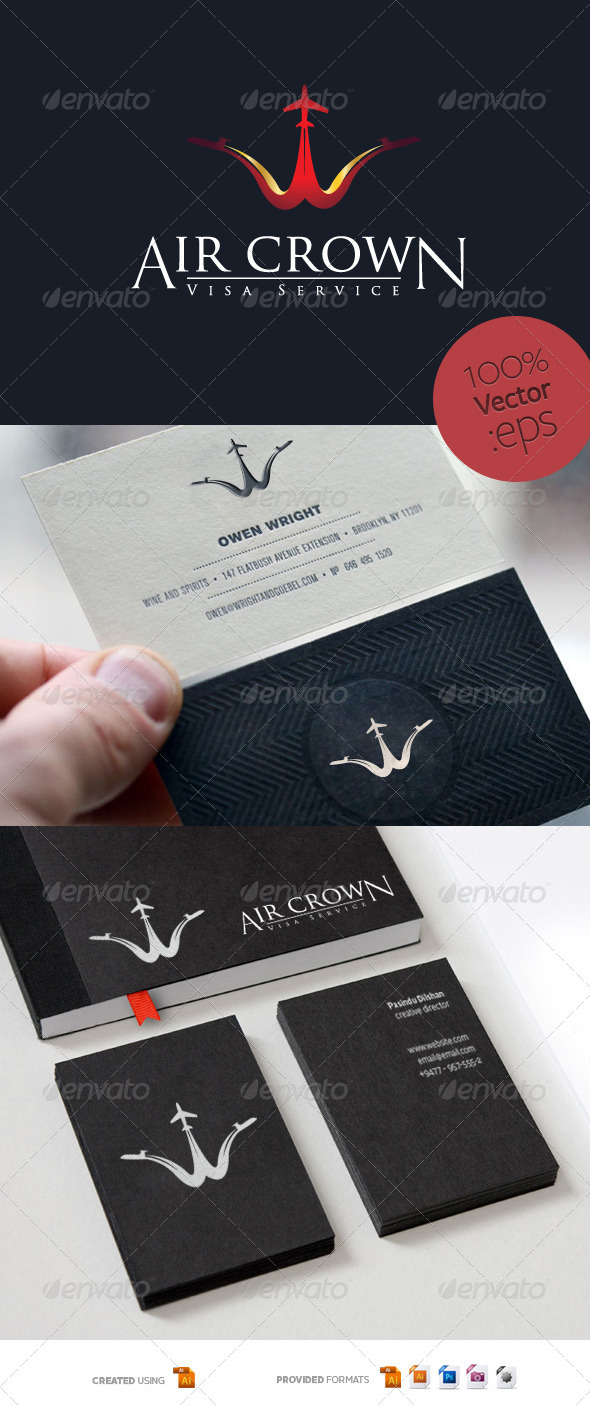 Prince - Visa Service  - Objects Logo Templates