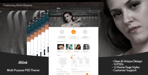 ThemeForest iBlink Multi Purpose PSD Template 3509193