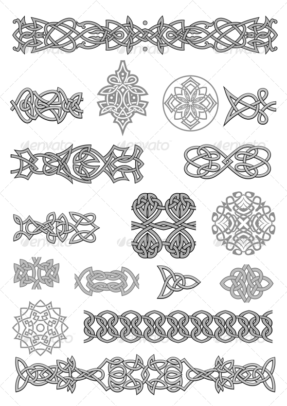 GraphicRiver Celtic Ornaments and Patterns 3533356