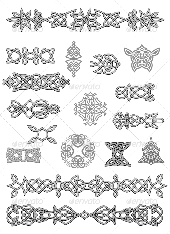 GraphicRiver Celtic ornaments 3533446