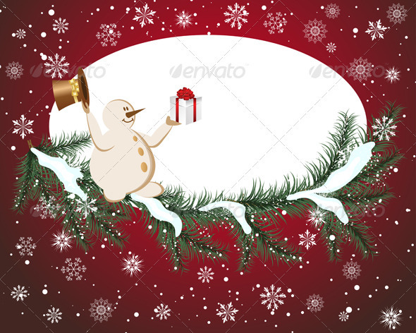 GraphicRiver Christmas Card 3533616