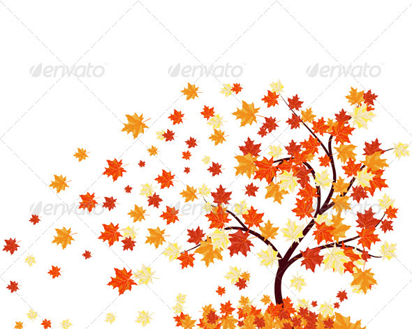 GraphicRiver Autumn Background 3535067
