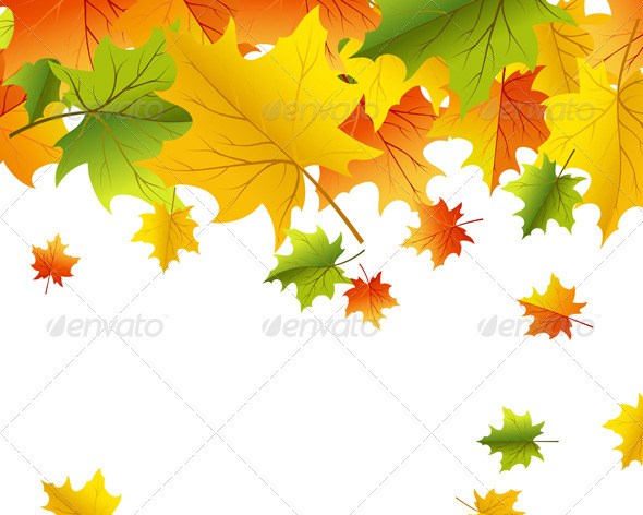 GraphicRiver Autumn Background 3535074