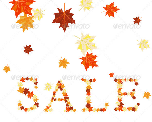 GraphicRiver Maples Leaves Sale 3535094