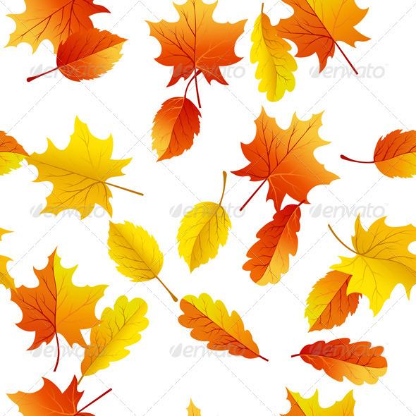 GraphicRiver Autumn Seamless 3535206