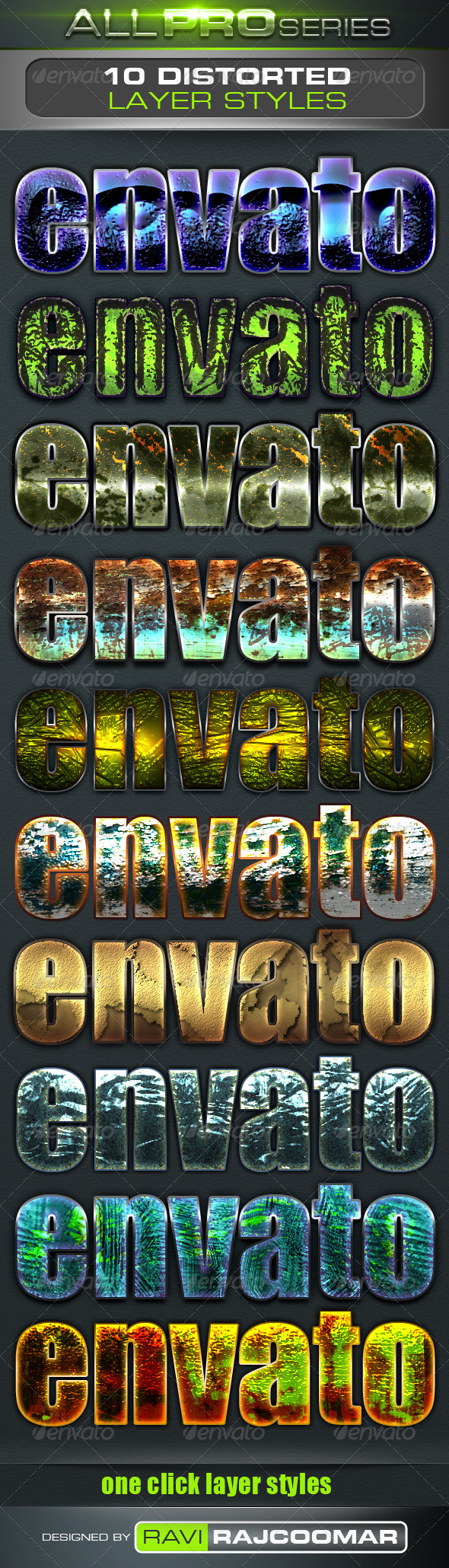 GraphicRiver Distorted Text Styles 3535262
