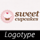 Sweet Cupcakes Logo - GraphicRiver Item for Sale