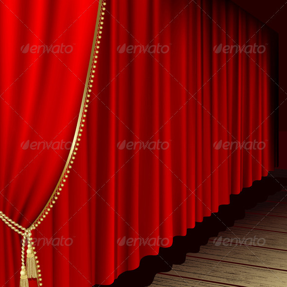 GraphicRiver Theater Stage 3537074