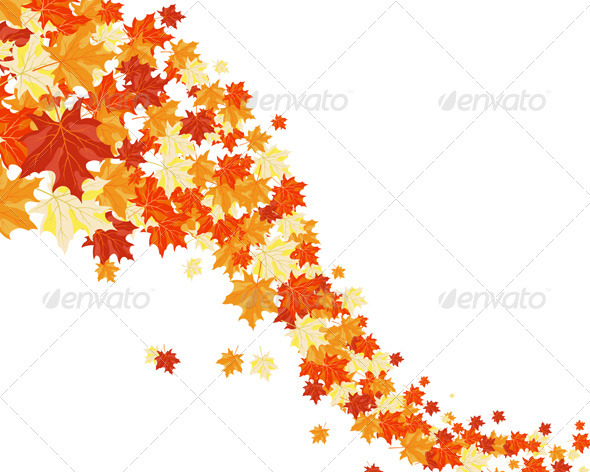 GraphicRiver Autumn Background 3537428