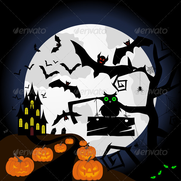 GraphicRiver Happy Halloween 3537631