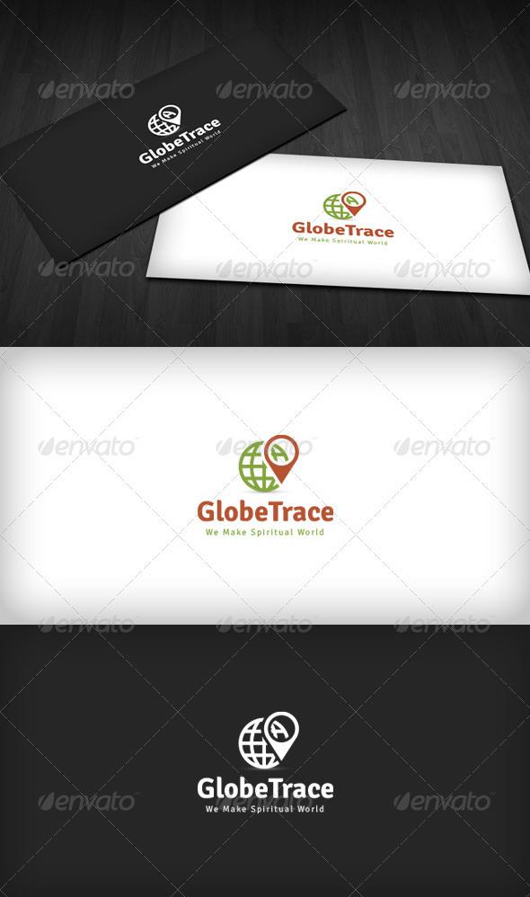 GraphicRiver Globe Trace Logo 3538355