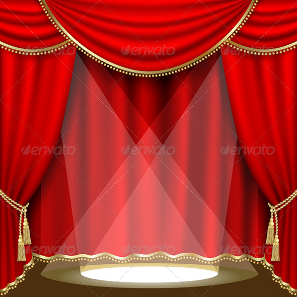 GraphicRiver Theater Stage Mesh 3538429