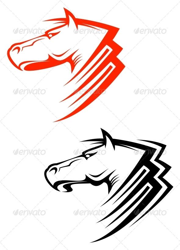 GraphicRiver Horses Symbols 3538659