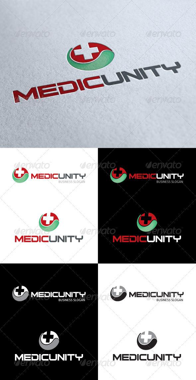 GraphicRiver Medic Unity Logo 3533271
