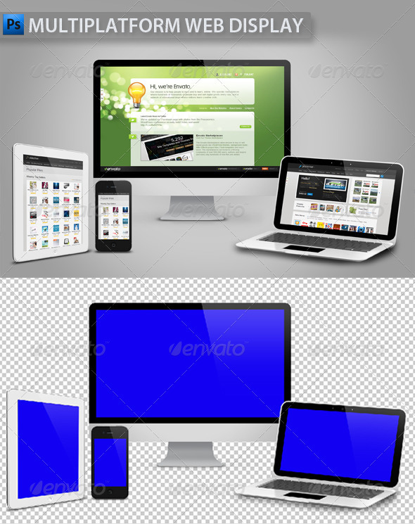 Multiplatform Web Display - Miscellaneous Social Media