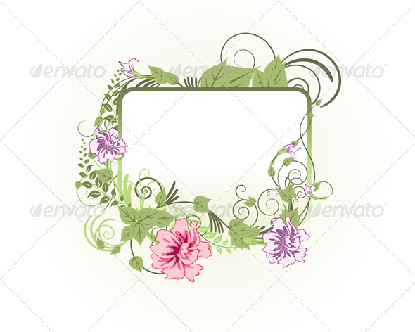 GraphicRiver Floral Background 3541130