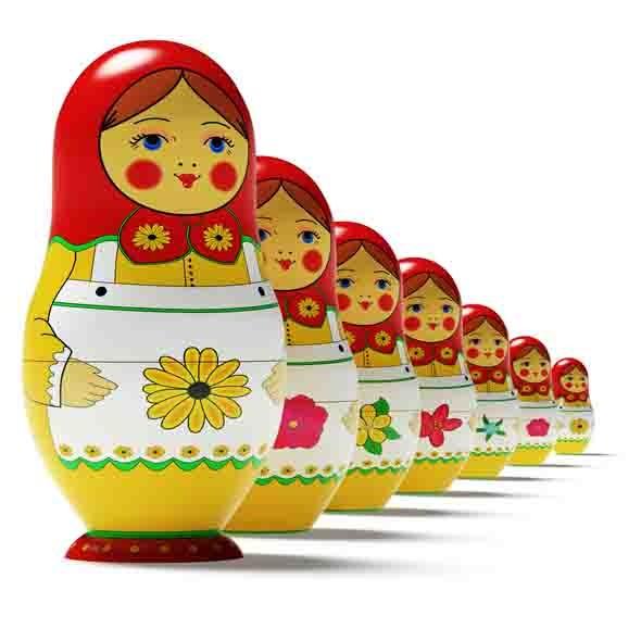 3DOcean Russian dolls 3542233