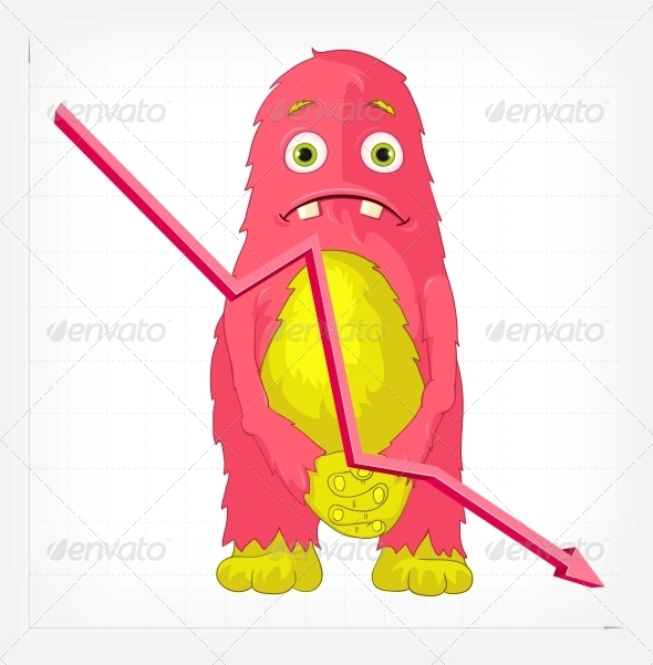 GraphicRiver Funny Monster Angry 3542395