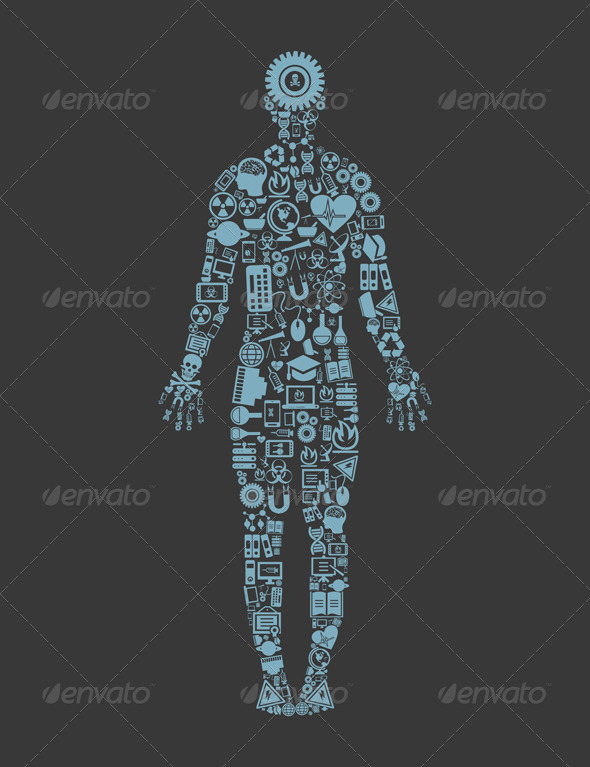 GraphicRiver Science Person 3542815