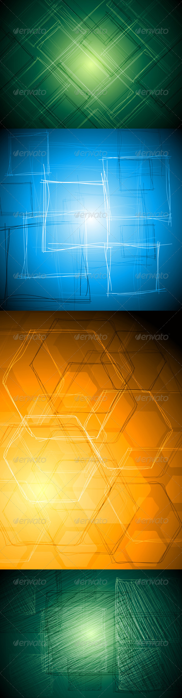 GraphicRiver Abstract Tech Vector Drawing 3543152