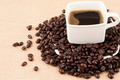 Coffee Cup with Coffee Beans  - PhotoDune Item for Sale
