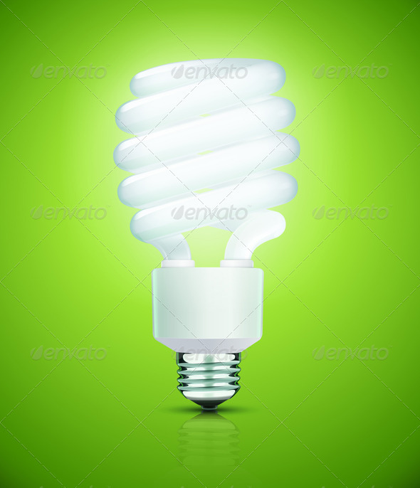 GraphicRiver Fluorescent Lightbulb 3543487