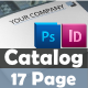 17 Page Clean Business Catalog - GraphicRiver Item for Sale