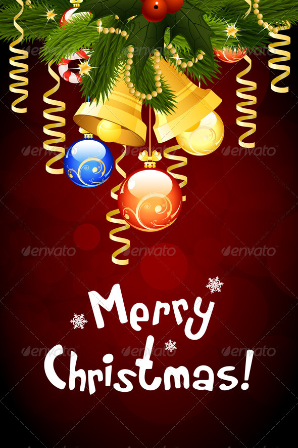 GraphicRiver Merry Christmas Greeting Card 3543997